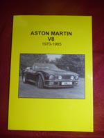 Aston Martin v8 1970 1985 book for sale