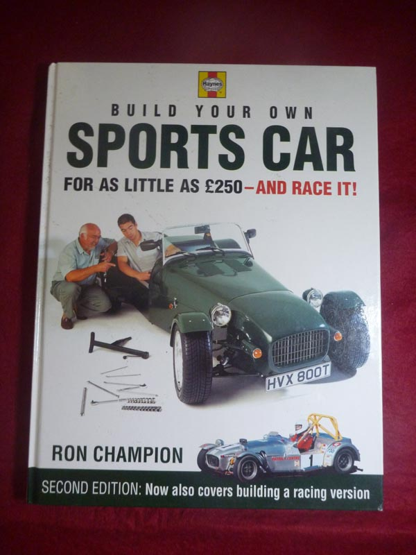 Build Your Own Sports Car For As Little As 250 Pounds And Race It! Book For  Sale