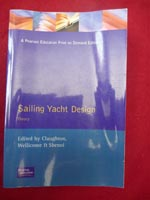 Sailing Yacht Design Theory book for sale