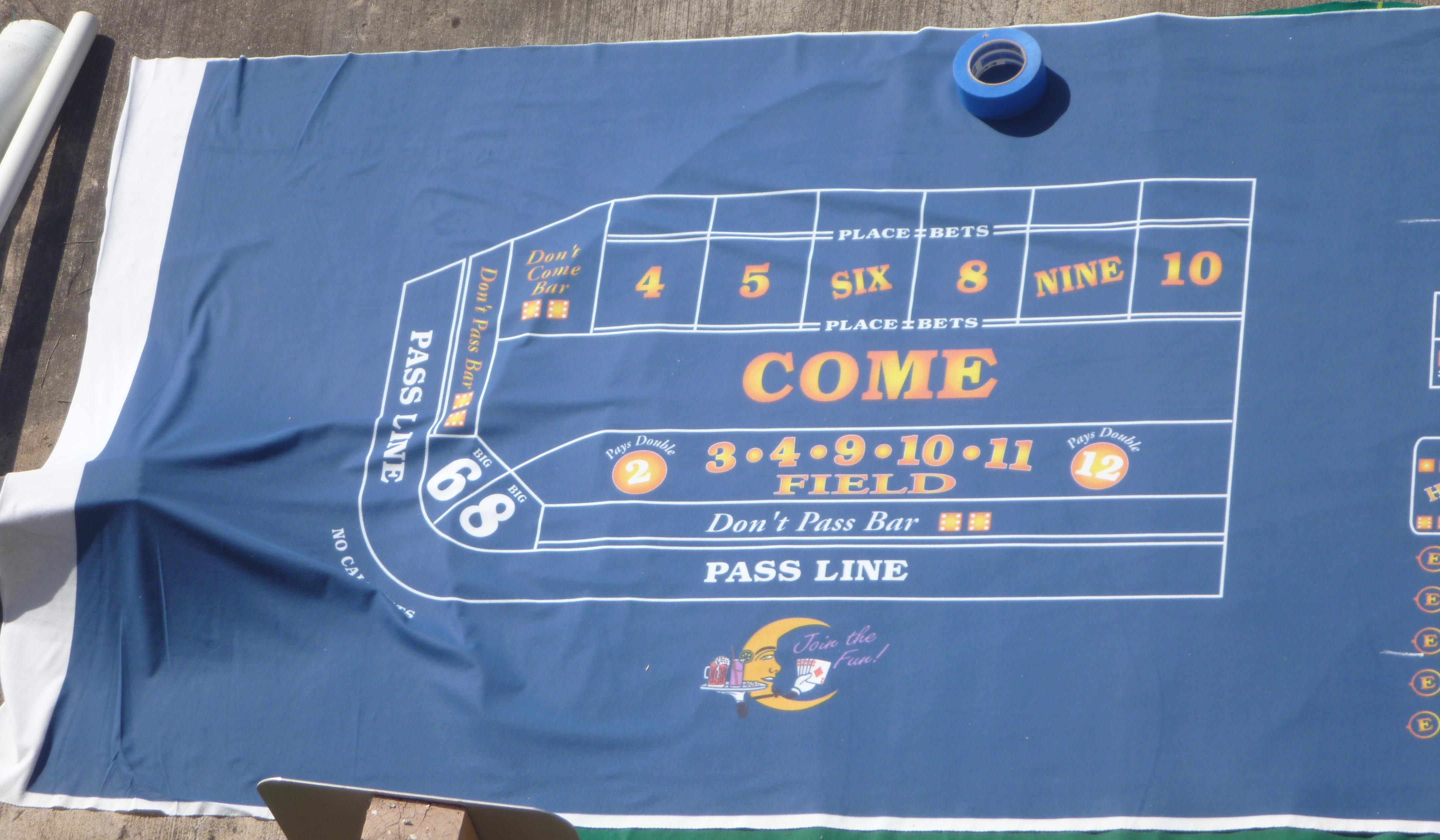 Rules of shooting craps