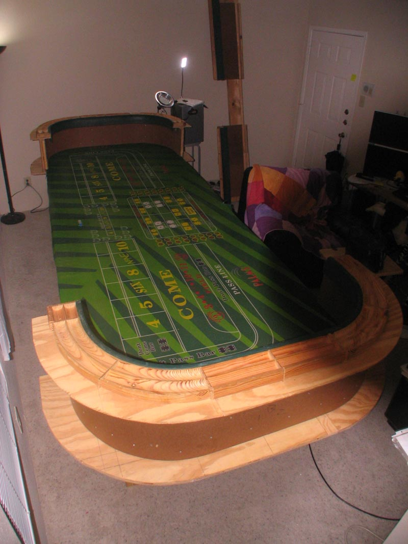 12 Craps Table Home Made Custom Portable Casino Houston