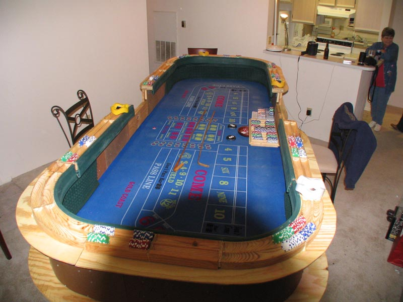 craps table for sale used