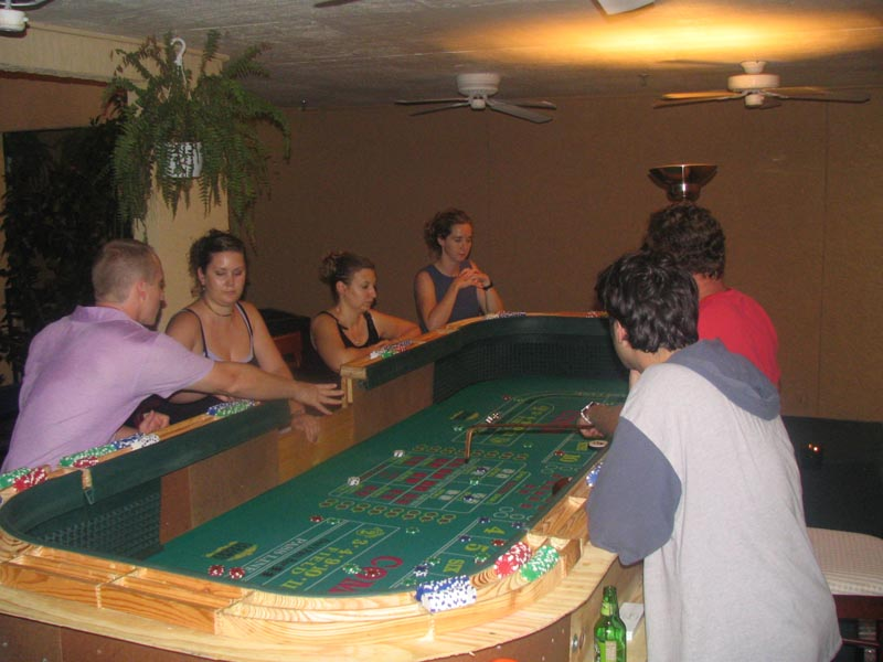Magnificent 12 Craps Table Home Made Custom Portable Casino Houston Texas Beutiful Home Inspiration Ommitmahrainfo