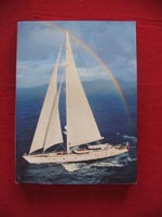 Rare book on Hyperion sailing yacht